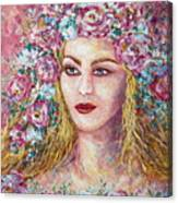 Goddess Of Good Fortune Canvas Print