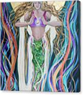 Goddess Of Intention Canvas Print