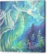 Goddess Of Memory Canvas Print