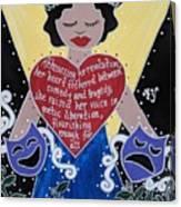 Goddess Of The Arts Canvas Print