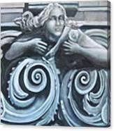Goddess Of The Sea Canvas Print