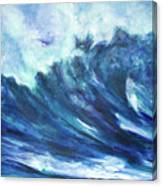 Goddess Of The Waves Canvas Print