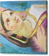Goddess Radha Canvas Print