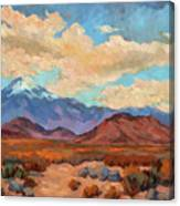 God's Creation Mt. San Gorgonio  Canvas Print
