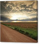 God's Way Of Calling It A Day Canvas Print