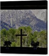God's Window Canvas Print