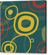 Gogo - Retro-modern Abstract Canvas Print