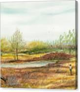 Going Fishing Canvas Print