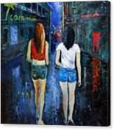 Going Out  Tonight  Canvas Print
