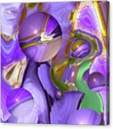 Orbs Of Light - Abstract Iris Marbles Canvas Print