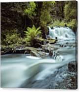 Goitstock Mill Waterfall  Canvas Print