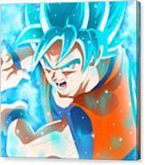 Goku In Dragon Ball Super  Canvas Print