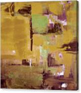 Gold Abstract Canvas Print