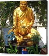 Gold Buddha 4 Canvas Print