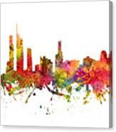 Gold Coast Australia Cityscape 08 Canvas Print