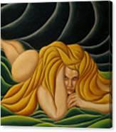 Seduction In Swirls Canvas Print