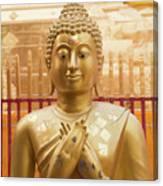 Gold Leaf Buddha Canvas Print
