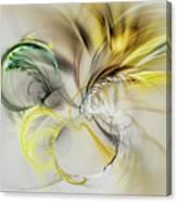 Gold Plumage Canvas Print