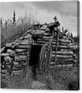Gold Rush Cabin - Yukon Canvas Print