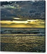 Gold Skies Canvas Print