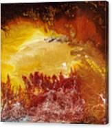 Gold Vein Canvas Print