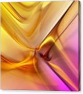 Golden Abstract 042711 Canvas Print
