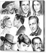 Golden Age Montage Canvas Print