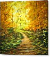 Golden Arches L Canvas Print
