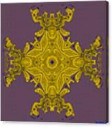 Golden Artifact Canvas Print