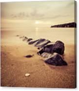 Golden Beach Canvas Print