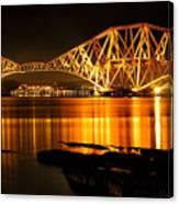 Golden Bridge Canvas Print