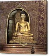 Golden Buddha Of Chang Mai Canvas Print