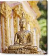 Golden Buddha Ornament Canvas Print