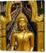 Golden Buddhas Canvas Print