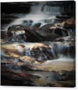 Golden Cascade Canvas Print