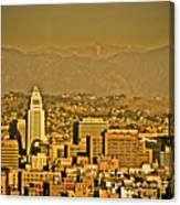 Golden City Hall La Canvas Print