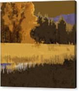 Golden Cottonwood Canvas Print