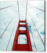 Golden Crossing - Golden Gate Bridge San Francisco Canvas Print