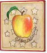 Golden Delicious Two Canvas Print