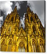 Golden Dome Of Cologne Canvas Print