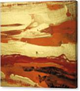 Golden Dusk Canvas Print