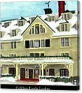Golden Eagle Lodge Canvas Print