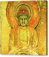 Golden Enlightenment Canvas Print