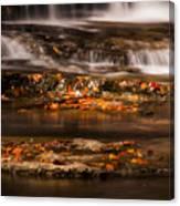 Golden Falls Canvas Print