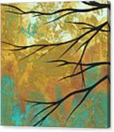 Golden Fascination 1 Canvas Print