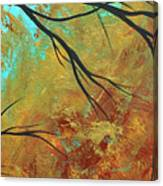 Golden Fascination 5 Canvas Print
