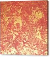 Golden Flames Canvas Print
