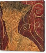 Golden Forest Canvas Print