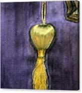 Golden Fringe Canvas Print