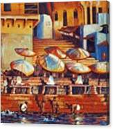 Golden Ganges Canvas Print